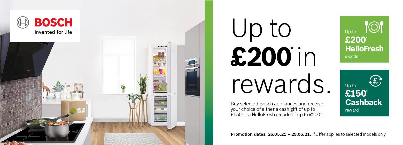 Up to £200 in Rewards